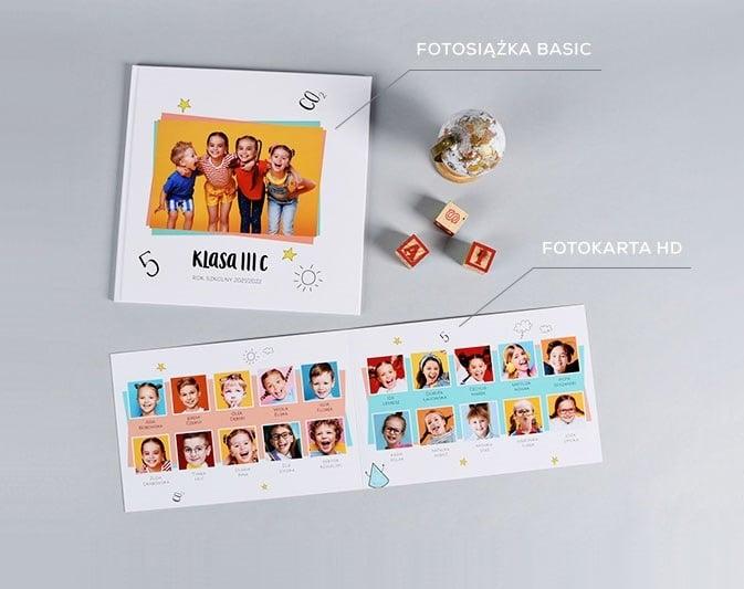 Pokazowa Fotoksiążka Basic + Fotokarta HD za 9,99 zł