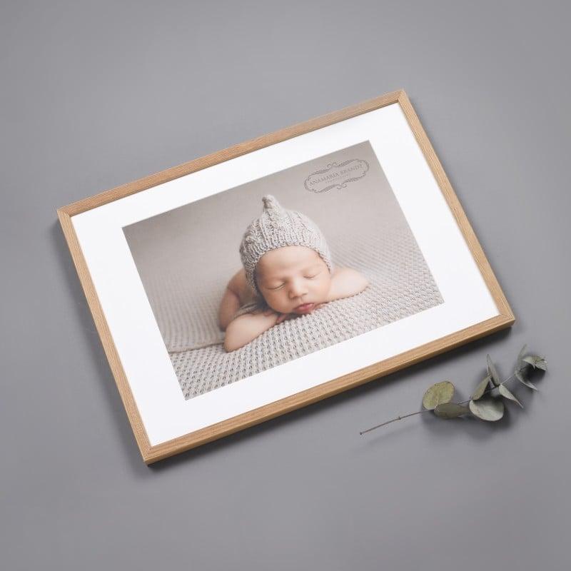 Neugeborenenfotografie und Wanddeko