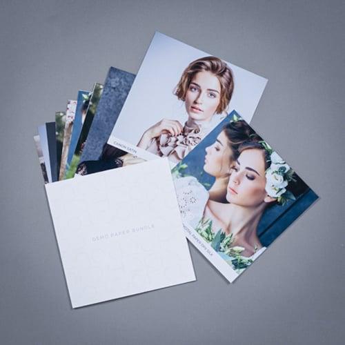 Paper Types - Mohawk Eggshell, Fuji Silk, Canon Satin & more!
