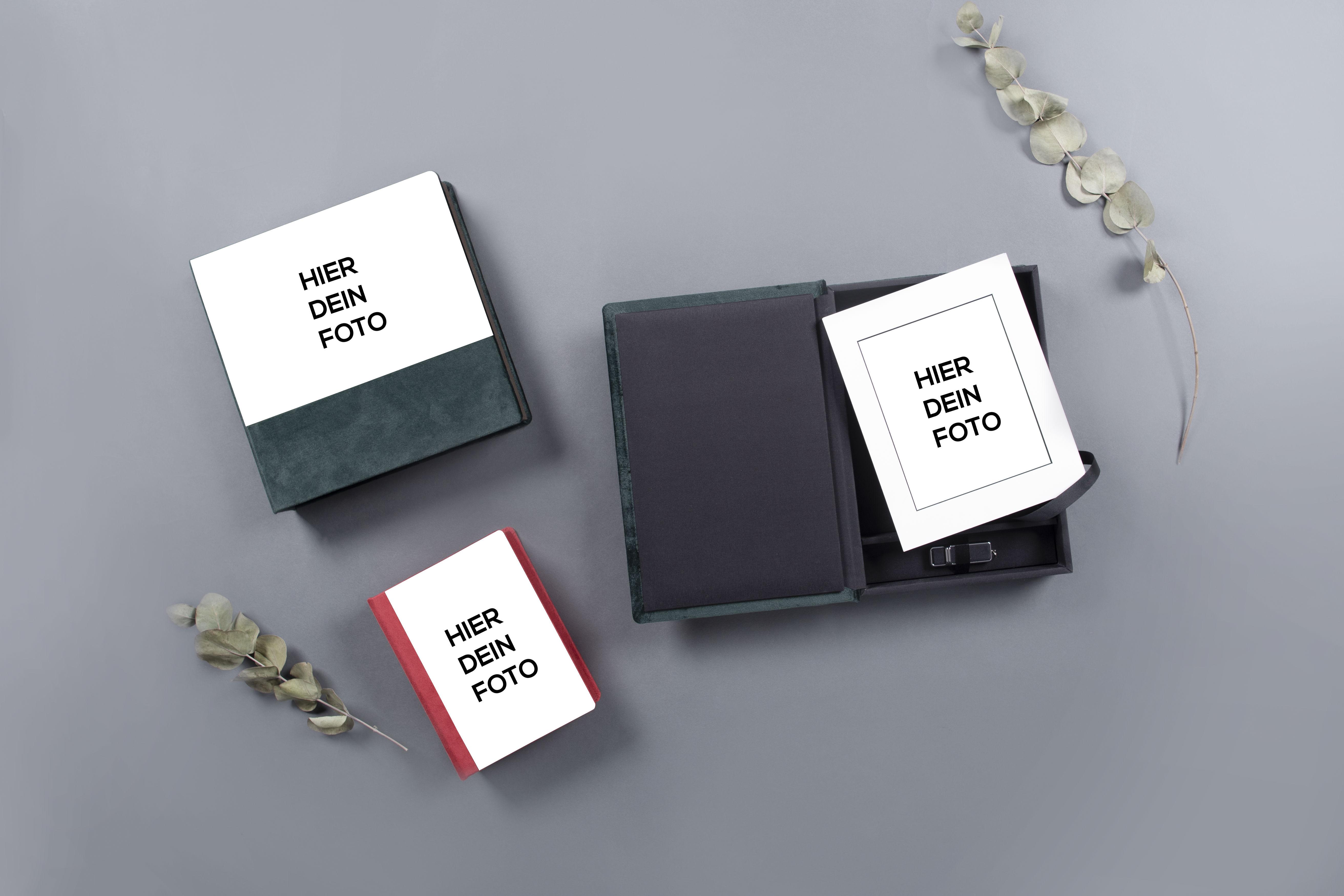 Passepartout Boxen in der Acryl Prestige Kollektion