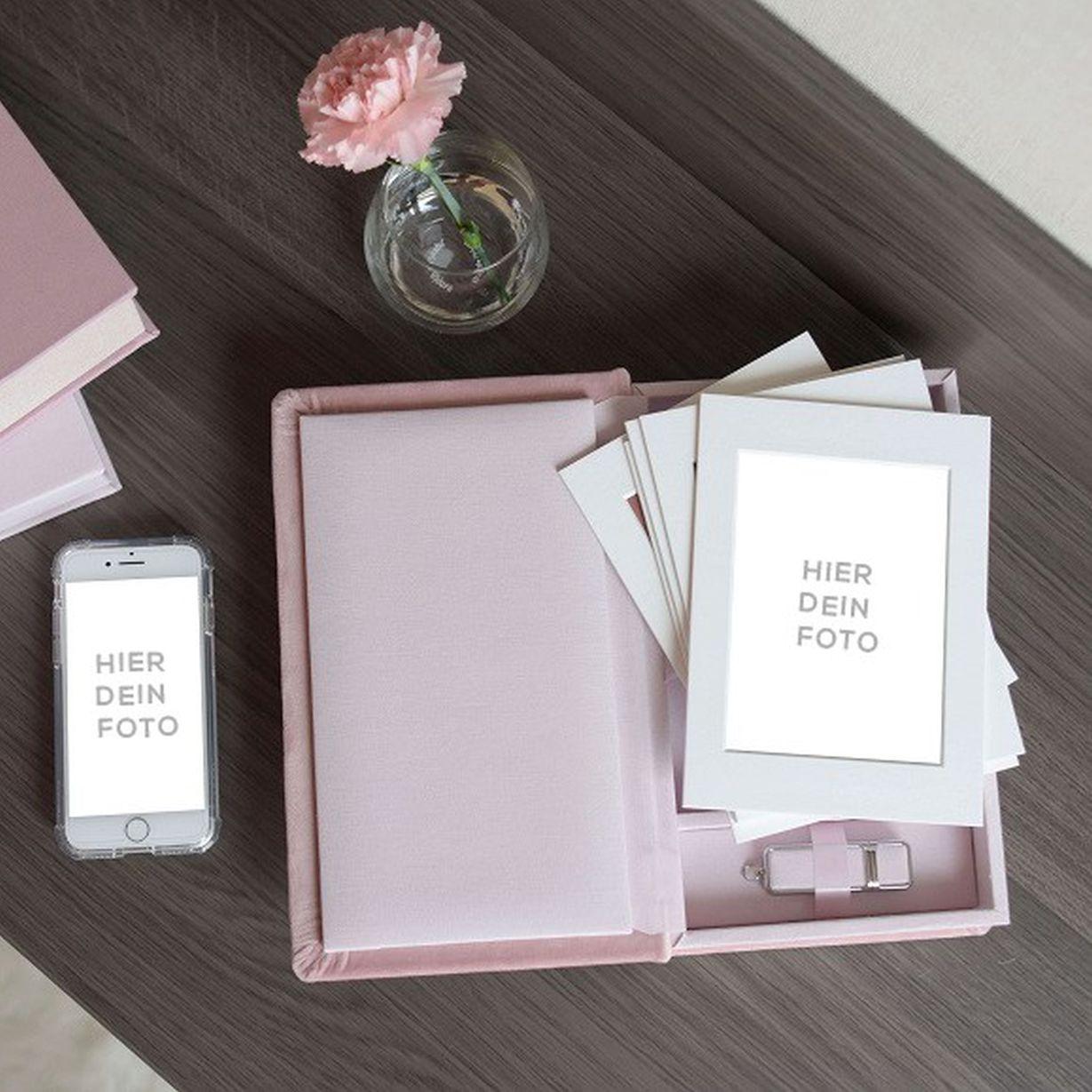 Mockup für Passepartout Box