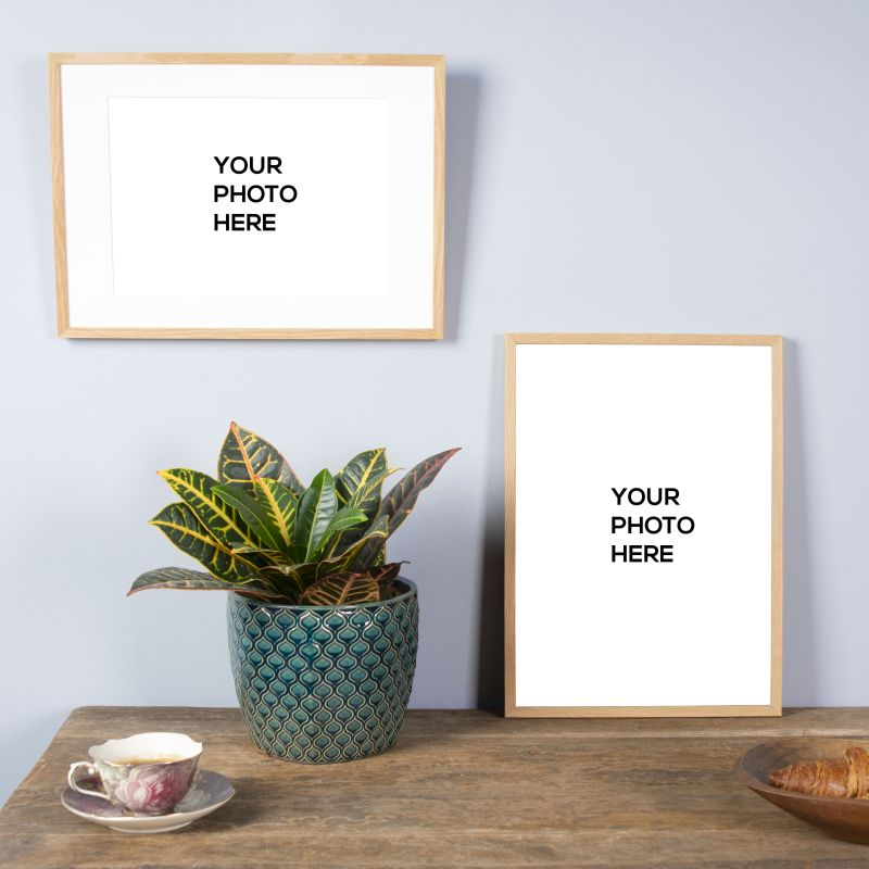 The Wall Decor mockups in package